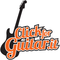 Click for guitar logo
